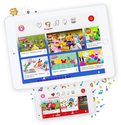 Youtube Kids lanseras i Sverige